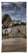 Goscar Rock Tenby 4 Beach Towel