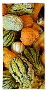 Gourdgeous Beach Towel by Kevin Fortier