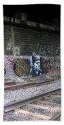 Graffiti - Under Over Railyard Beach Towel