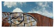Graffiti Monster Beach Towel