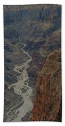 Grand Canyon-aerial Perspective Beach Sheet