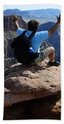 Grand Canyon Feeling All Right Beach Towel