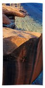 Grand Canyon Into Space Beach Towel