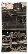 Grand Canyon Railroad Locomotive Beach Towel