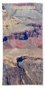 Grand Canyon Rock Formations IIi Beach Towel
