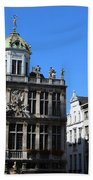 Grand Place Buildings Beach Towel