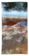 Grand Prismatic Spring Iv Beach Towel