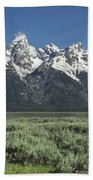 Grand Teton Spring Beach Towel