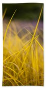 Grass Abstract 3 Beach Towel
