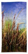 Grasses Standing Tall Beach Towel