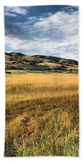 Grassy Plains And Ancient Dunes Beach Towel