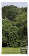 Grave Of Lafayette Meeks Appomattox Virginia Beach Towel