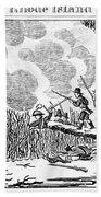 Great Swamp Fight, 1675 Beach Towel