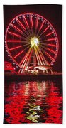 Great Wheel  Beach Towel