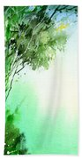 Green 1 Beach Towel