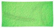 Green Background Beach Towel