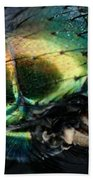 Green Blow Fly Beach Towel