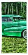 Green Classic Hdr Beach Towel