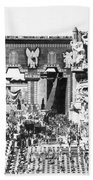 Griffith: Intolerance 1916 Beach Towel