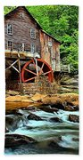 Grist Mill At Babcock Beach Towel