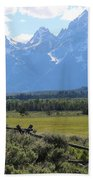 Grizzly Country Beach Towel