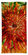 Gum Flower Beach Towel