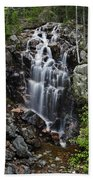 Hadlock Falls Acadia Beach Towel