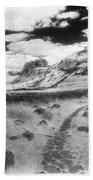 Hadrians Wall Beach Towel by Simon Marsden