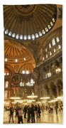 Hagia Sophia In Istanbul Beach Towel