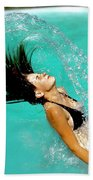 Hair Fling Beach Towel