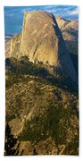 Half Dome From Washburn Point Beach Towel