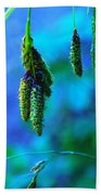 Hanging Green  Beach Towel