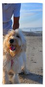 Happy Fella Beach Towel