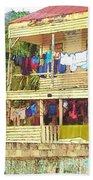 Happy Hour Washday Belize Beach Towel