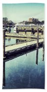 Harbor Time Beach Towel