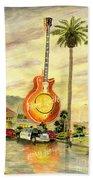 Hard Rock Cafe Las Vegas Beach Towel