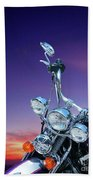 Harley Sunset Beach Towel