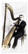 Harp Player Beach Sheet