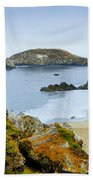 Harris Beach Beach Towel