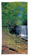 Harrison Wright Falls - Summertime Beach Towel