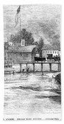 Hartford, 1853 Beach Towel