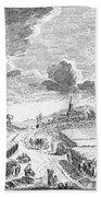 Harvesting, 18th Century Beach Towel