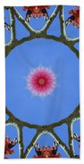 Hawaiian Flora Beach Towel