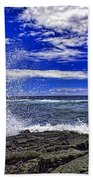 Hawaiian Surf Beach Towel