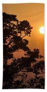 Hazy Sunset Beach Towel