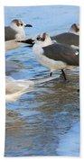 He Is The One Beach Towel by Susanne Van Hulst
