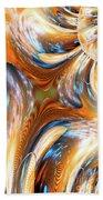 Heatwave Abstract Beach Towel