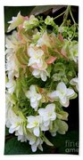 Heavenly Hydrangea Beach Towel