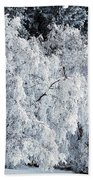 Heavy Frost Beach Towel