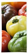 Heirloom Tomatoes Beach Towel